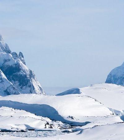 Cientistas descobrem cânion gigante sob gelo da Antártida