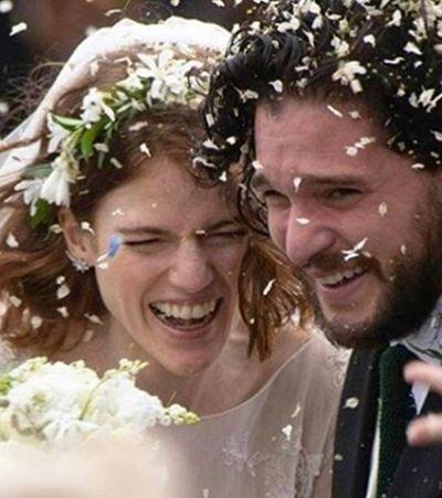 Rei e rainha do norte: fotos do casamento de Kit Harington e Rose Leslie foram finalmente divulgadas