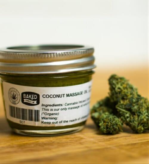 A Baked tem chocolates, óleos e uma série de produtos com cannabis