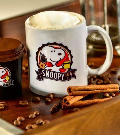 SP ganha café inspirado em Snoopy e seus personagens