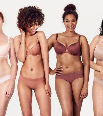 Marca de lingerie cria 70 tamanhos de sutiã para ser mais inclusiva