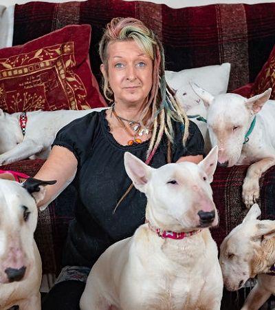 'Ou eles ou eu': ela largou o marido para ficar com seus 30 cães