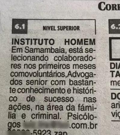 Homens criam instituto para se 'defenderem' de Lei Maria da Penha em Brasília