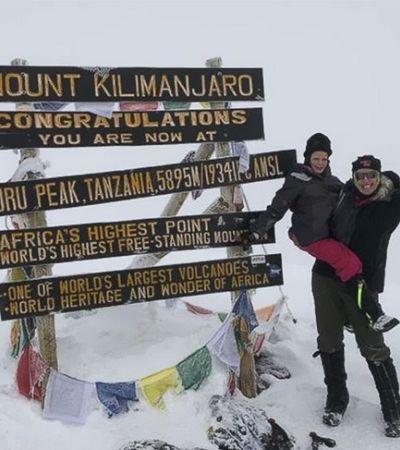 Aos 7 anos ela se tornou a mulher mais jovem a escalar o Kilimanjaro por um excelente motivo