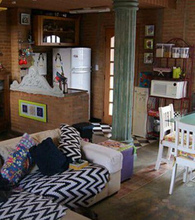Minha Casa é Hype #7: Casal transforma casa abandonada em espaço acolhedor