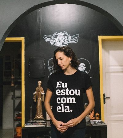 'Lutar como uma garota é resistir todos os dias', viúva de Marielle é entrevistada de mini doc da Peita