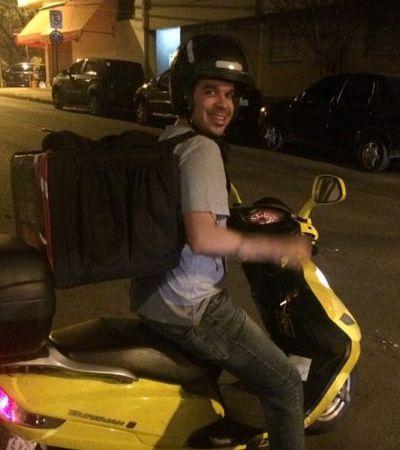 Como foi passar uma noite entregando pizzas de moto em São Paulo
