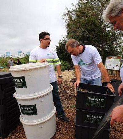 Florianópolis inicia projeto piloto de coleta seletiva de lixo orgânico