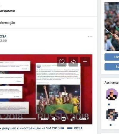 Termo usado no vídeo machista dos brasileiros vira gíria entre russos