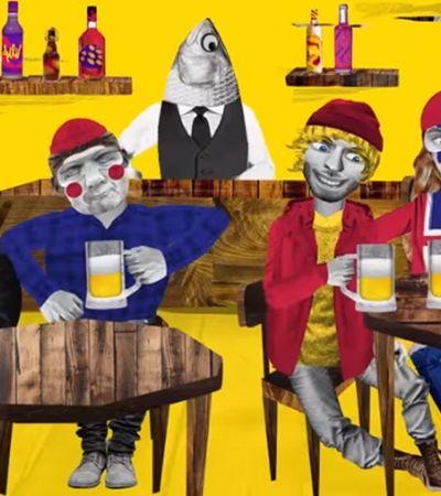 Se vencer a Argentina, Skol vai premiar torcida da Islândia com cerveja