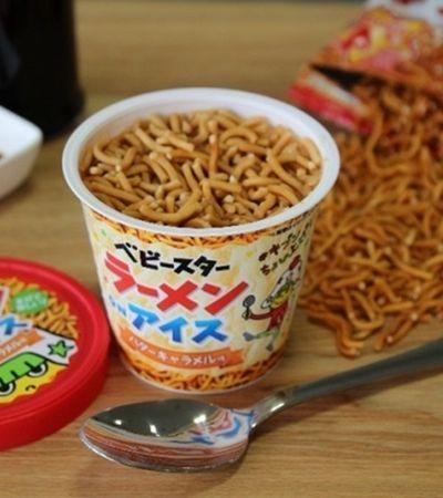Ramen on Ice: sorvete de macarrão já é realidade no Japão