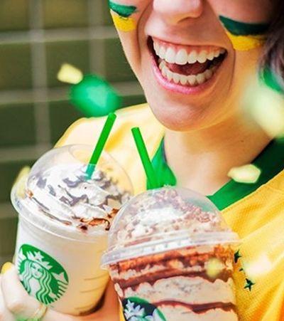 Starbucks vai servir café em dobro em jogos do Brasil na Copa do Mundo