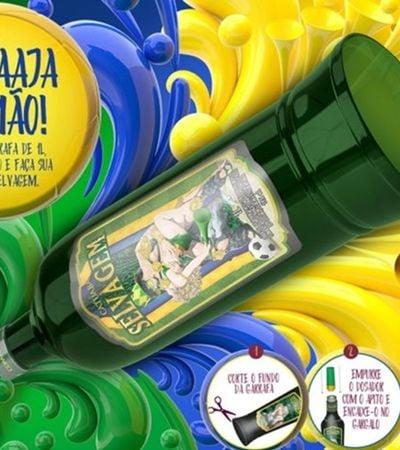 Catuaba lança embalagem que vira vuvuzela selvagem para a Copa