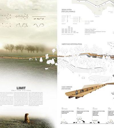 Haverá zoológicos no futuro? Concurso de arquitetura repensa conceito com foco no bem estar animal