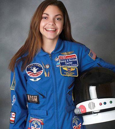 NASA está preparando esta menina de 17 anos para ser o primeiro humano a pisar em Marte