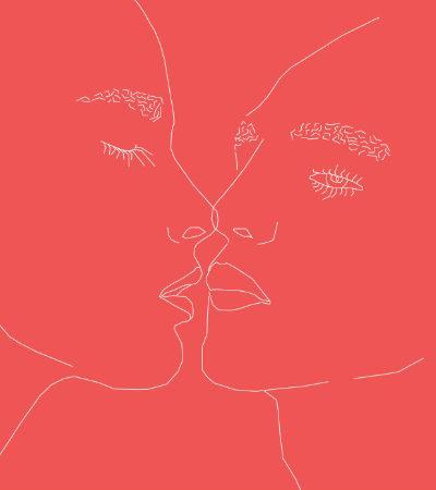 Projeto Erotic representa corpos e relações sexuais livres em quadros potentes