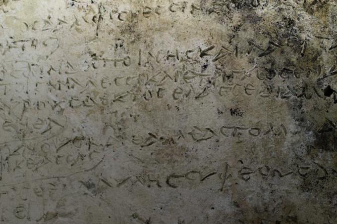 Não é o texto completo, mas treze versos onde Odisseu conversa com seu amigo Eumaeus