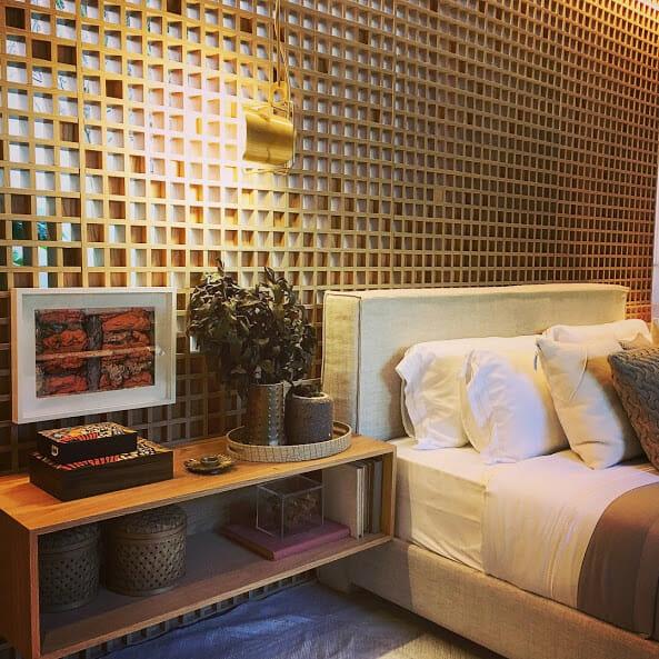 Um dos ambientes decorados onde aconteceram os Beauty Talks
