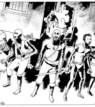 Brasileiro concorre ao 'Oscar dos Quadrinhos' com HQ sobre a escravidão