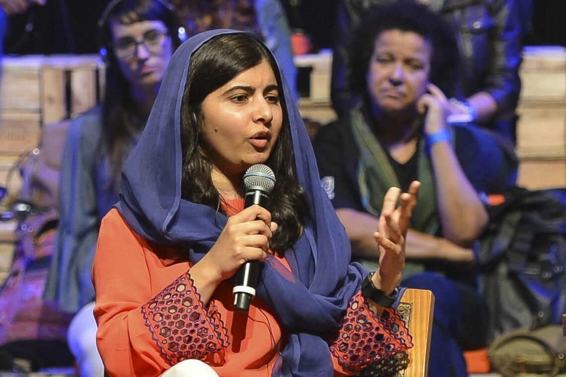 A ativista paquistanesa Malala Yousafzai, defende que a educação é o melhor investimento