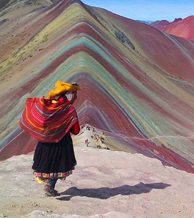 Como natureza criou a fantástica Montanha das 7 Cores, no Peru
