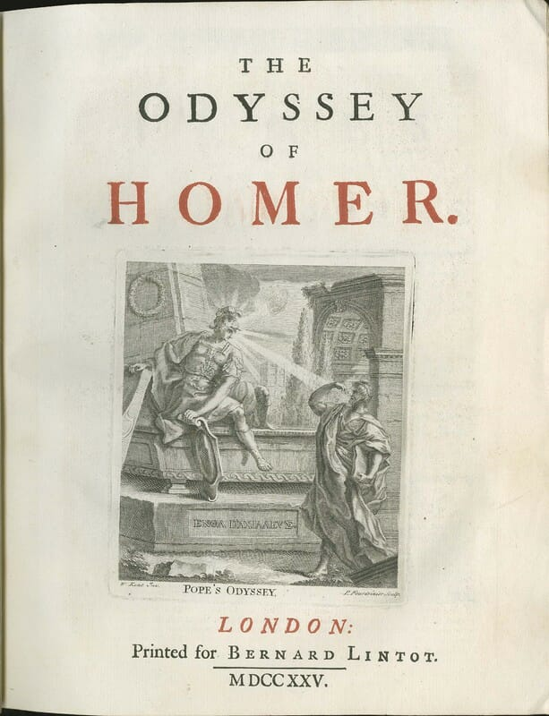 Uma das capas da Odisseia
