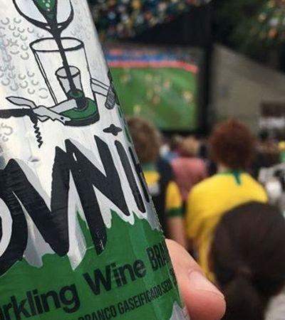 Espumante em lata é opção para celebrar os gols da seleção em grande estilo