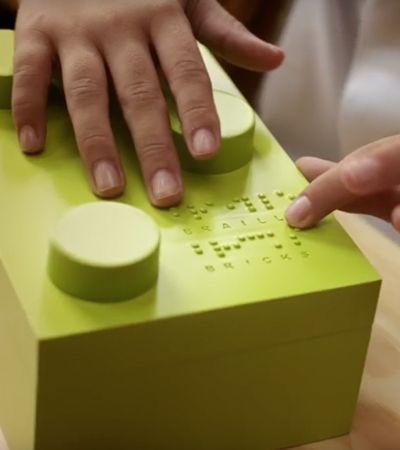 Lego irá comercializar peças em braille para alfabetizar deficientes visuais
