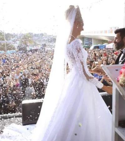 Juntos há 16 anos, casal de catadores ganha casamento dos sonhos em Parada LGBTQ
