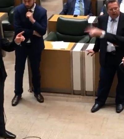 Deputado do PSB chama mulheres de vacas aos gritos em plena assembléia