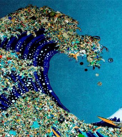OMO lança embalagem feita de plásticos retirado dos oceanos e reciclado