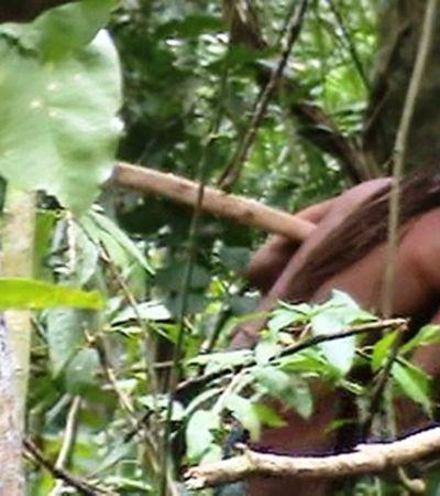 Último sobrevivente de sua tribo, índio aparece isolado em vídeo feito pela Funai