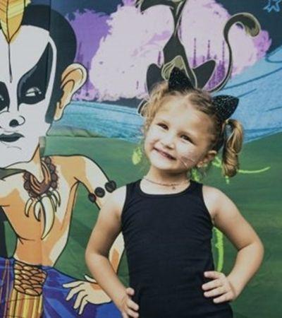 Menina comemora 5 anos e escolhe Ney Matogrosso como tema de sua festa