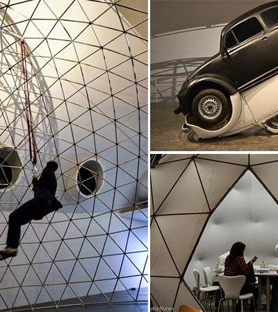 """Exposição """"Invento"""" reúne grandes invenções com toques de artistas contemporâneos em SP"""