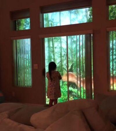 Este pai surpreendeu a filha fã de dinossauros da maneira mais incrível