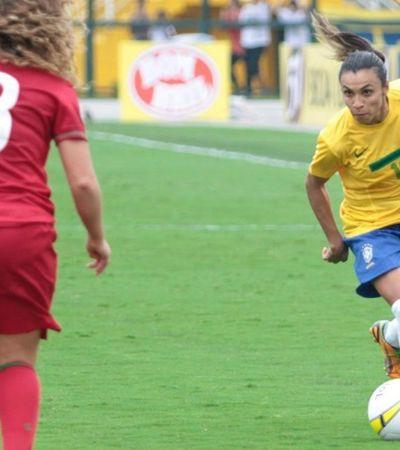 Pela 14ª vez Marta concorre ao prêmio de melhor jogadora do mundo da FIFA