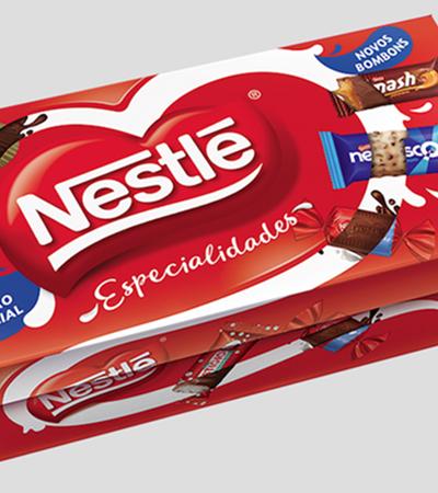 O lançamento da nova caixa Nestlé especialidades vai te deixar maluco