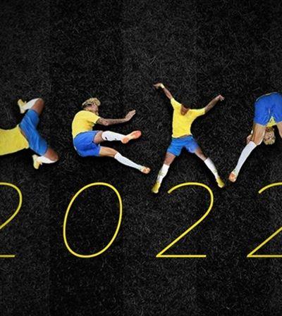 O hexa não veio, mas a internet está louca pelo alfabeto com as quedas de Neymar