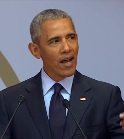 Em celebração de centenário de Mandela, Obama pede olhos abertos contra tirania e populismo