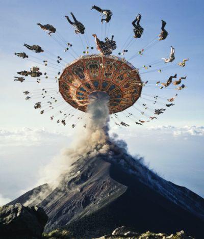 Artista cria paisagens surrealistas que vão bugar sua mente