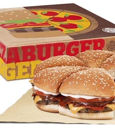 Com objetivo de unir o país BK lança a Pizza Burger