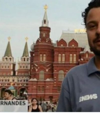Depois de assumir namorado ao vivo, repórter da Globo desabafa por repercussão