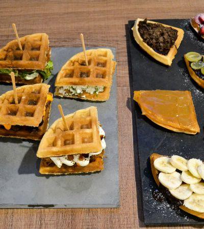 Colamos em um Rodízio de Waffles, a mais nova aposta gastronômica em São Paulo
