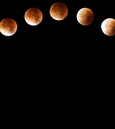 'Lua de Sangue': Saiba como ver o eclipse lunar mais longo do século no Brasil nesta sexta