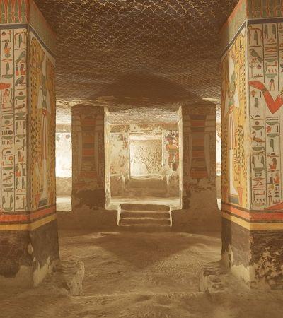 Criaram um tour virtual para visitar a tumba da rainha egípcia Nefertari
