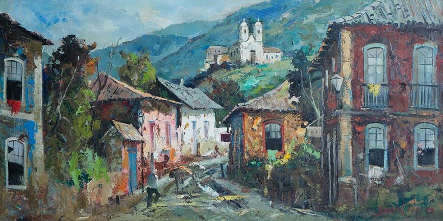 Casario, de Durval Pereira | Óleo sobre tela, 1971