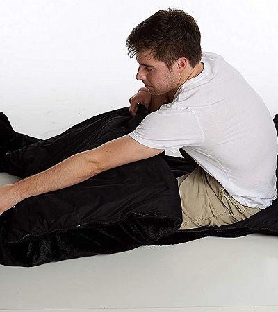 O saco de dormir mais divertido pra te aquecer neste inverno