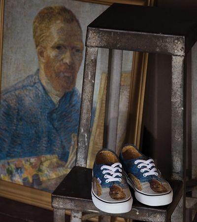 Colaboração entre Vans e Museu Van Gogh gera coleção luxuosa e sofisticada