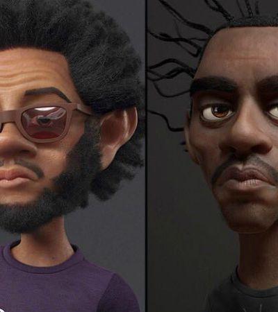 Brasileiro que trabalhou na DreamWorks transforma artistas e personagens em desenhos animados