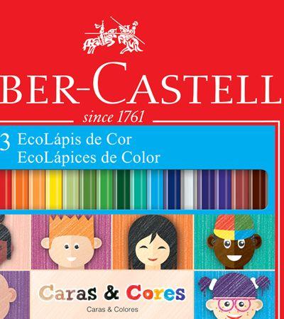 Faber Castell cria linha de lápis com 6 tons de peles diferentes